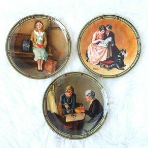 TBE Rockwell's American Dream VTG Collector Plates
